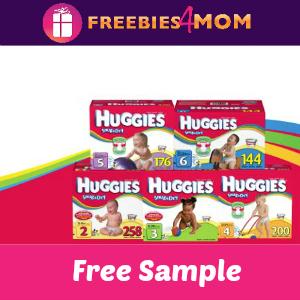 Get 2 FREE Huggies Snug & Dry Diapers