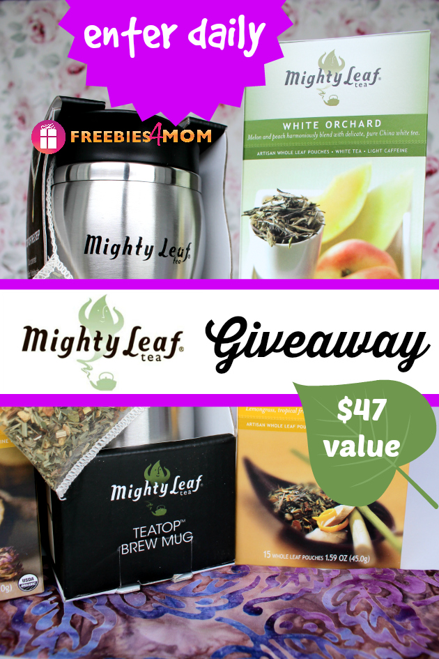 Mighty Leaf TeaTop Mug with World Flavors Giveaway