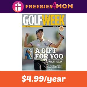 Deal Golfweek $4.99