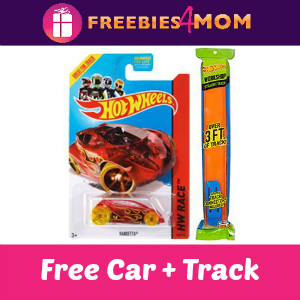Free Hot Wheels Car with Track Pack
