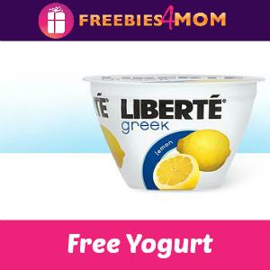 Free Liberte Yogurt at Kroger