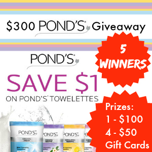 Pond's Giveaway