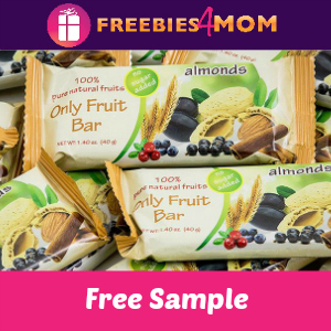 Free Only Fruit Bar ($2.49 value)