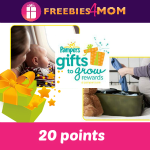 20 points Pampers Gifts to Grow