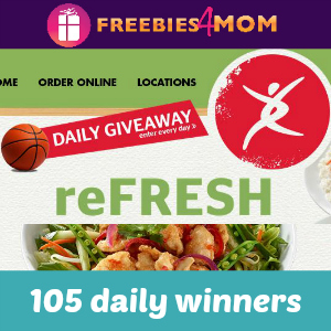 Pei Wei's reFRESH Madness Giveaway