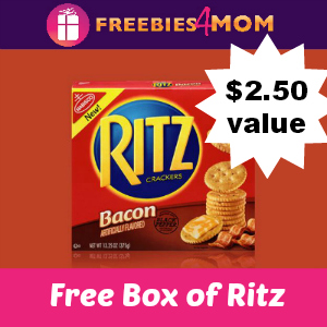 Free Full-size Box of Ritz Bacon Flavored Crackers