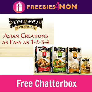 Free Chatterbox: Tai Pei Made to Order