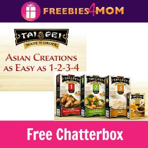 Free Chatterbox: Tai Pei Made to Order