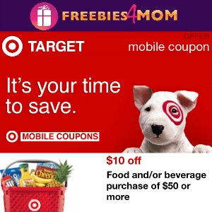 Target coupon $10 off $50+ Groceries thru 4/19