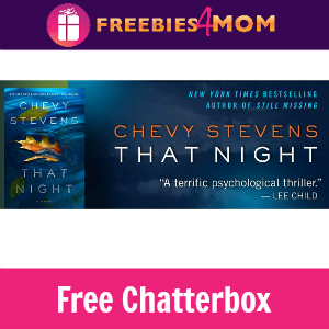 "Free Chatterbox: Chevy Stevens ""That Night"""