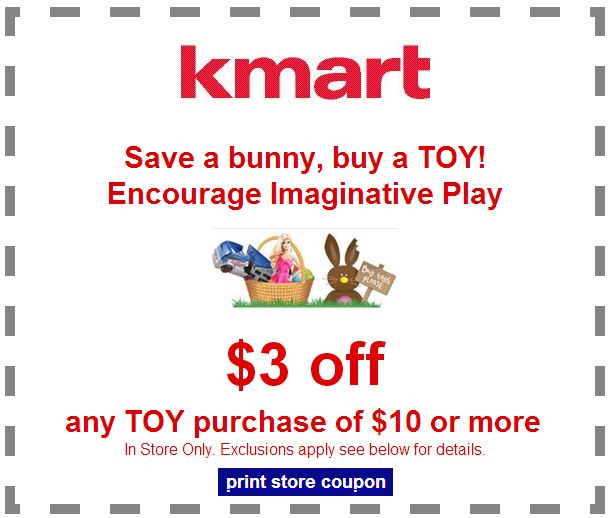 Kmart Toy Coupon