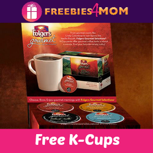 Free Folgers Gourmet K-Cups