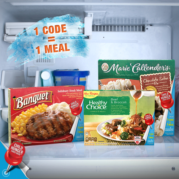 Child Hunger Ends Here - Frozen Foods