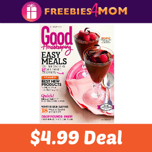 Deal Good Housekeeping $4.99 (37% Off)