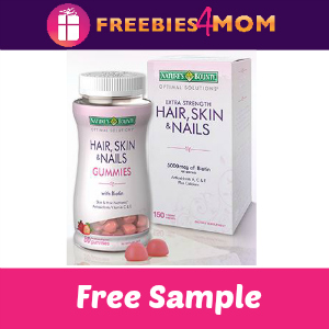 Natures One Free Sample