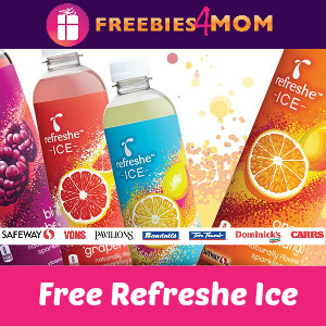 Free Refreshe Ice from Safeway