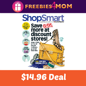 Deal ShopSmart Magazine $14.96