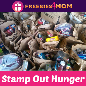 Stamp Out Hunger Food Drive May 9