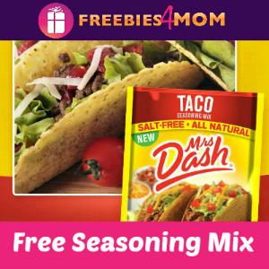 Free Mrs. Dash Taco Seasoning Mix