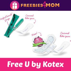 Freebie U by Kotex - 4 Options
