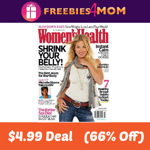 Magazine Deal: Women's Health $4.99