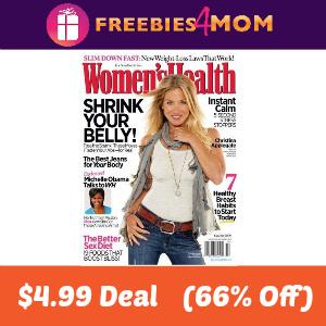 Deal Women's Health $4.99  (66% Off)