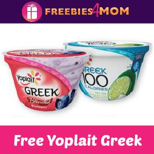 Free Yoplait Greek at Kroger