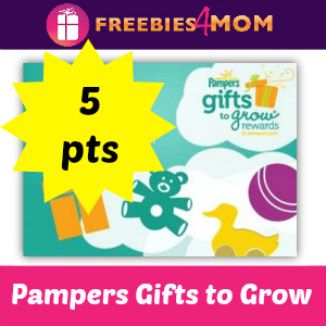 5 points Pampers Gifts to Grow