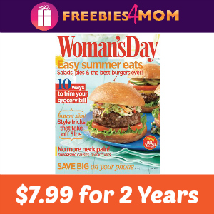 Deal $7.99 Woman's Day 2 years