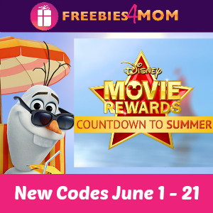 10 points Disney Movie Rewards (thru June 3)