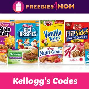 Kellogg's Family Rewards Codes