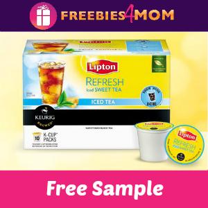 Free Lipton K-Cups Sample