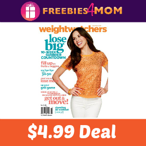 Magazine Deal: 66% Off Weight Watchers ($4.99)