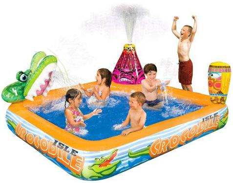 $29.99 Banzai Crocodile Isle Adventure Pool (25% off) #KmartSummerFun #ad