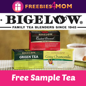 Free Sample Bigelow Mint Tea