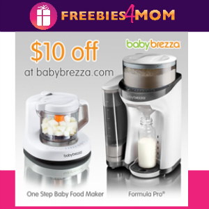 Free $10 Baby Brezza Gift Card *starts Noon CT*