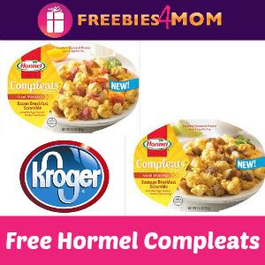 Free Hormel Compleats Breakfast at Kroger