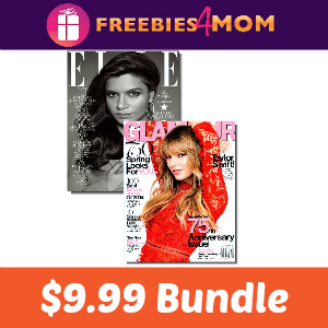 Magazine Bundle Deal: Elle & Glamour $9.99