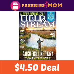 Magazine Deal: Field & Stream $4.50