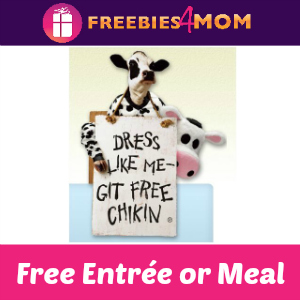 Free Entrée at Chick-fil-A on July 12