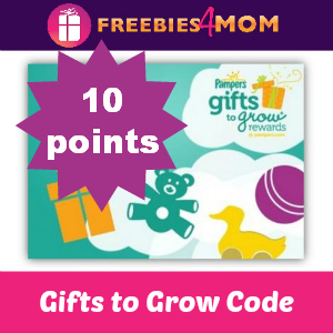 10 pts Pampers Gifts to Grow