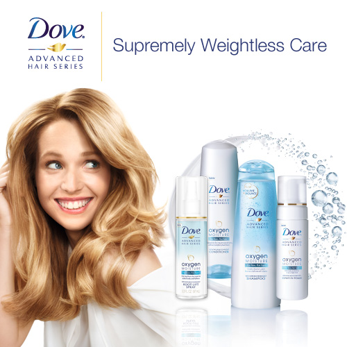 Dove Advanced Hair Series Sweepstakes plus $1.50 Dove Coupon