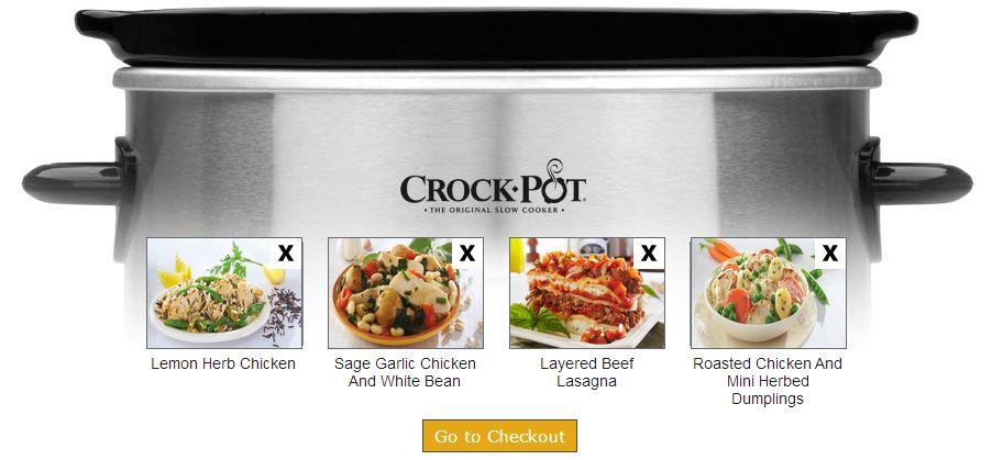 Crock-Pot® Cuisine Meal Kits