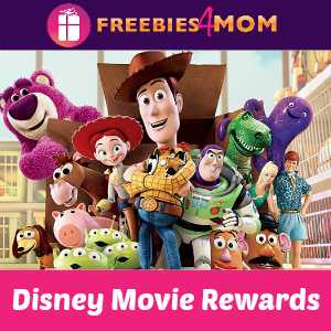 Disney Movie Rewards 75 Points