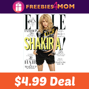 Magazine Deal: Elle $4.99