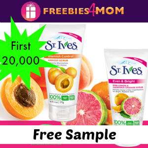 Free Sample of St. Ives Scrub