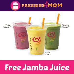 Free Jamba Juice August 6