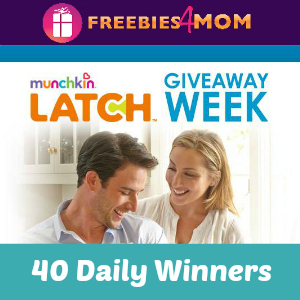 Munchkin LATCH™ Baby Products Giveaway *40 daily winners*