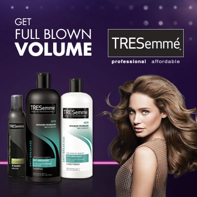 How to make a Voluminous Blowout with TRESemme
