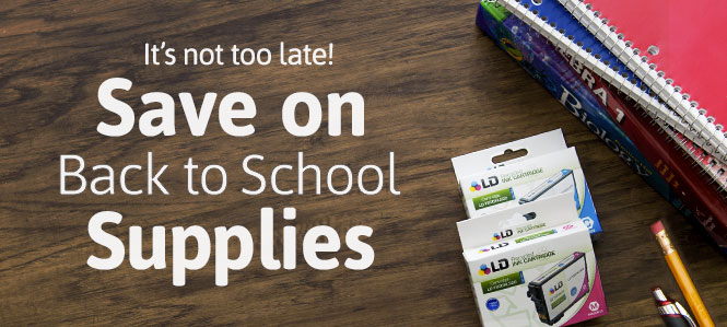 Back To School Supplies at LD Products